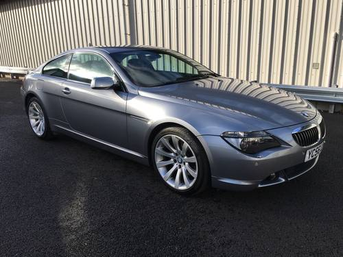 2006 BMW 6 SERIES 4.8 V8 650I SPORT COUPE AUTO 363 BHP SOLD (picture 1 of 6)