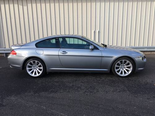 2006 BMW 6 SERIES 4.8 V8 650I SPORT COUPE AUTO 363 BHP SOLD (picture 2 of 6)