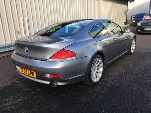 2006 BMW 6 SERIES 4.8 V8 650I SPORT COUPE AUTO 363 BHP SOLD (picture 3 of 6)