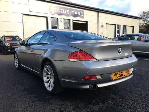 2006 BMW 6 SERIES 4.8 V8 650I SPORT COUPE AUTO 363 BHP SOLD (picture 4 of 6)