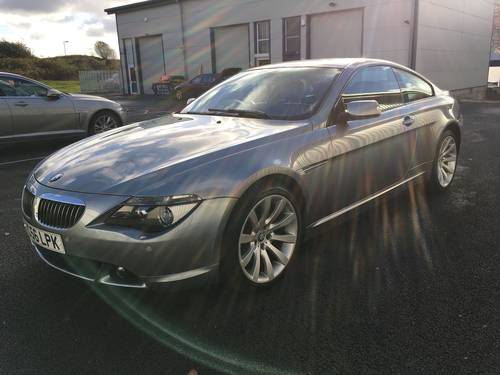 2006 BMW 6 SERIES 4.8 V8 650I SPORT COUPE AUTO 363 BHP SOLD (picture 5 of 6)