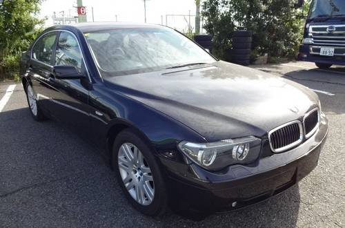 2006 BMW 745i AUTOMATIC 4.4 ONLY 41000 MILES * HIGH JAPANESE SPEC For Sale (picture 1 of 6)