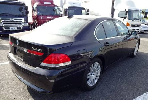2006 BMW 745i AUTOMATIC 4.4 ONLY 41000 MILES * HIGH JAPANESE SPEC For Sale (picture 2 of 6)