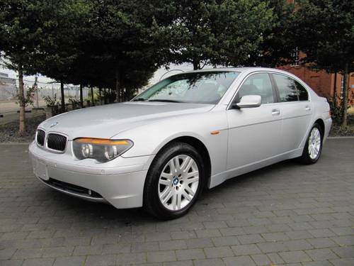 2003 BMW 7 SERIES 745i AUTOMATIC * ONLY 24000 MILES For Sale (picture 1 of 6)