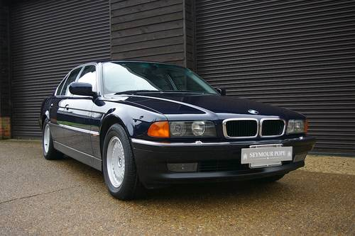 1997 BMW E38 740i Automatic Saloon (13,254 miles) SOLD (picture 2 of 6)