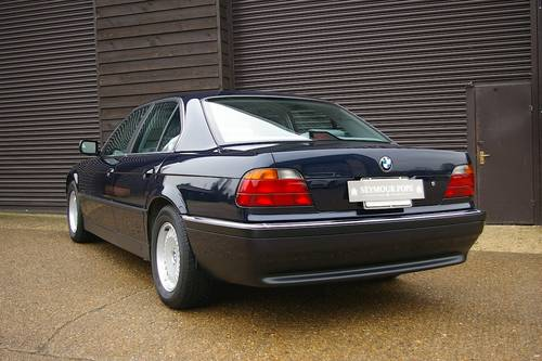 1997 BMW E38 740i Automatic Saloon (13,254 miles) SOLD (picture 3 of 6)