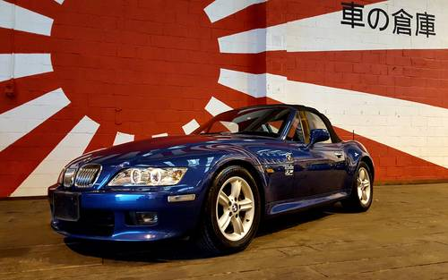 2000 BMW Z3 ROADSTER CONVERTIBLE 2.0 AUTO LEATHER  39000 MILES For Sale (picture 1 of 6)