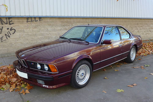 1984 BMW M635 CSi two owners Full history from new For Sale (picture 1 of 6)