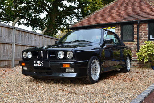 1992 BMW E30 M3 Convertible Only 21,000 miles SOLD (picture 1 of 6)
