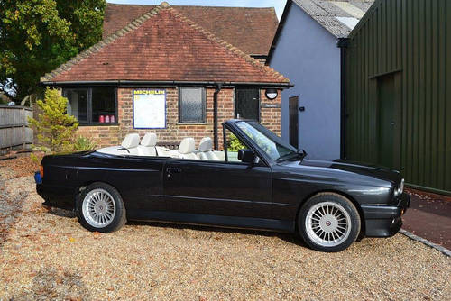 1992 BMW E30 M3 Convertible Only 21,000 miles SOLD (picture 2 of 6)
