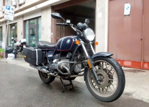 Bmw R 100 Rs 1981 Naked Sold Car And Classic