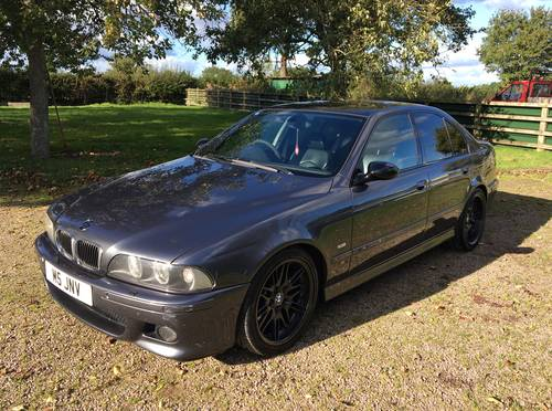 BMW M5 E39 2000 4.9L V8 400bhp PART X CLASSIC MOTORCYCLE ?! SOLD (picture 2 of 6)