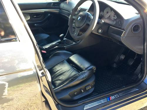 BMW M5 E39 2000 4.9L V8 400bhp PART X CLASSIC MOTORCYCLE ?! SOLD (picture 6 of 6)