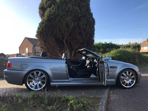 2004 BMW M3 E46 Convertible With Only 45,000 Miles From New For Sale (picture 6 of 6)