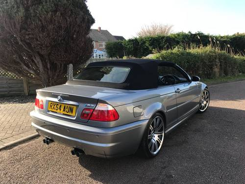 2004 BMW M3 E46 Convertible With Only 45,000 Miles From New For Sale (picture 1 of 6)