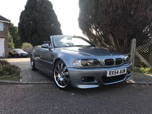 2004 BMW M3 E46 Convertible With Only 45,000 Miles From New For Sale (picture 2 of 6)