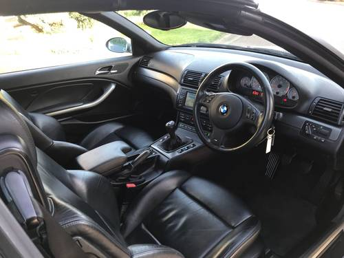 2004 BMW M3 E46 Convertible With Only 45,000 Miles From New For Sale (picture 4 of 6)