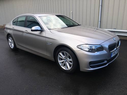 2013 BMW 5 SERIES 2.0 181 BHP 520D SE SALOON SOLD (picture 1 of 6)