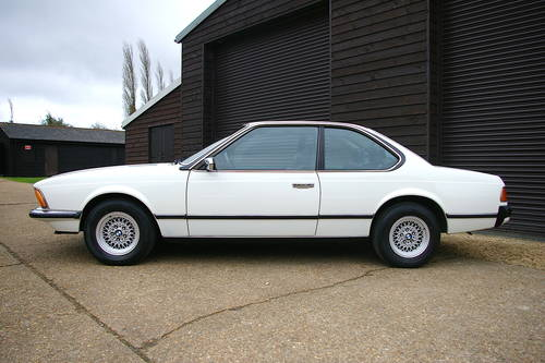 1982 BMW E24 633 CSI Automatic Coupe (49,847 miles) SOLD (picture 1 of 6)