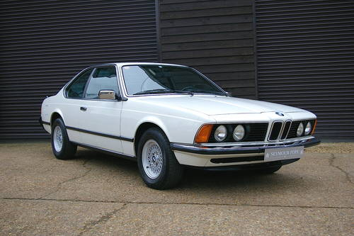 1982 BMW E24 633 CSI Automatic Coupe (49,847 miles) SOLD (picture 2 of 6)