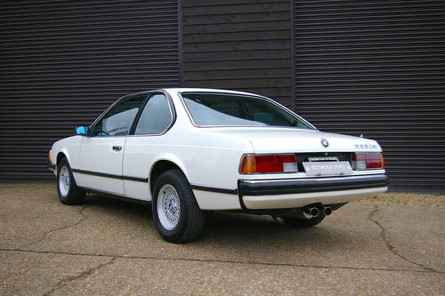 1982 BMW E24 633 CSI Automatic Coupe (49,847 miles) SOLD (picture 3 of 6)