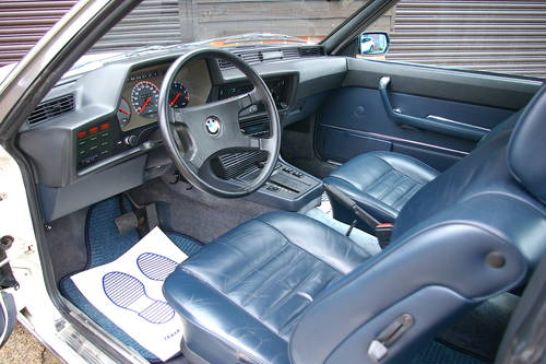 1982 BMW E24 633 CSI Automatic Coupe (49,847 miles) SOLD (picture 4 of 6)