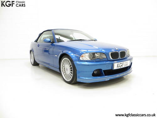 2003 A Striking E46 BMW Alpina B3 3.4 S Convertible SOLD (picture 1 of 6)
