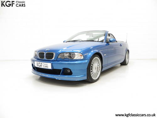 2003 A Striking E46 BMW Alpina B3 3.4 S Convertible SOLD (picture 2 of 6)