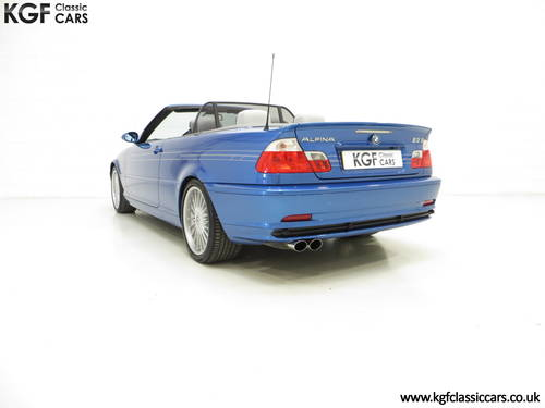 2003 A Striking E46 BMW Alpina B3 3.4 S Convertible SOLD (picture 4 of 6)
