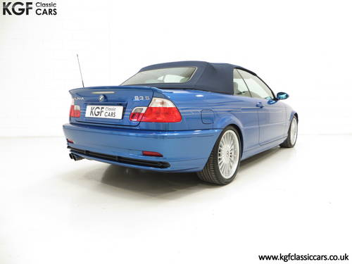 2003 A Striking E46 BMW Alpina B3 3.4 S Convertible SOLD (picture 5 of 6)