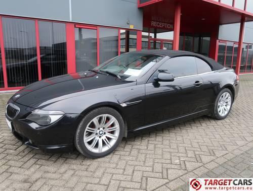 2004 BMW 645CI Cabrio E64 333HP RHD For Sale (picture 1 of 6)