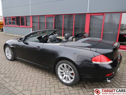 2004 BMW 645CI Cabrio E64 333HP RHD For Sale (picture 4 of 6)