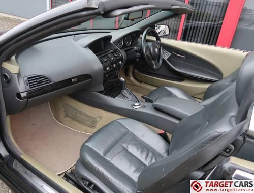 2004 BMW 645CI Cabrio E64 333HP RHD For Sale (picture 5 of 6)