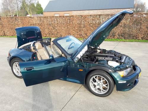 BMW Z3 2.8 BOSTON GRUN B.J. 1998. SOLD (picture 2 of 6)