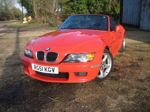 2001  BMW Z3 2.2 Automatic DEPOSIT TAKEN SOLD (picture 1 of 6)