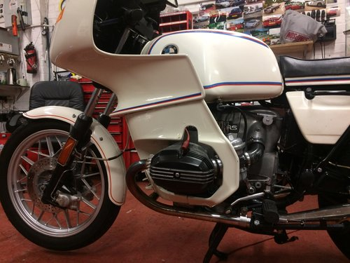 1978 ULTRA RARE BMW R100 SRS SOLD (picture 3 of 6)
