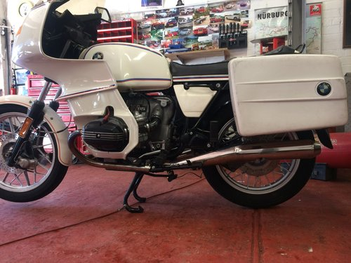 1978 ULTRA RARE BMW R100 SRS SOLD (picture 4 of 6)
