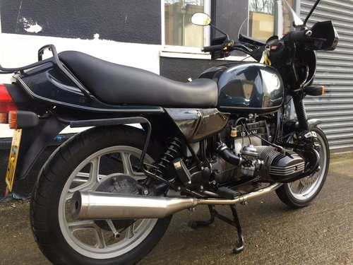1994 Very smart bmw R80. SOLD (picture 2 of 6)