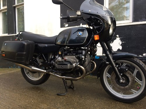 1994 Very smart bmw R80. SOLD (picture 3 of 6)