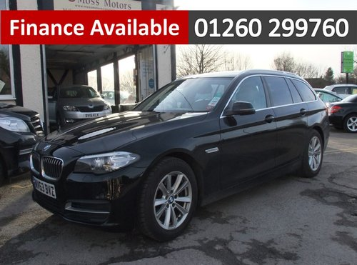 2013 BMW 5 SERIES 2.0 520D SE TOURING 5DR AUTOMATIC SOLD (picture 1 of 6)