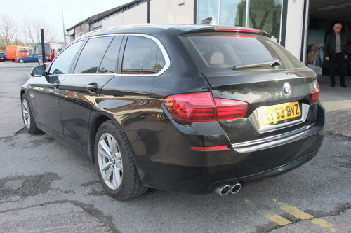 2013 BMW 5 SERIES 2.0 520D SE TOURING 5DR AUTOMATIC SOLD (picture 3 of 6)