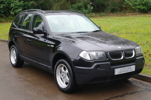 2006 BMW X3.. 2.0 Diesel.. BARGAIN TO CLEAR £1695.. SOLD (picture 1 of 6)