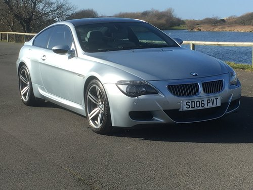 2006 BMW M6 5.0 V10 SMG COUPE For Sale (picture 1 of 6)