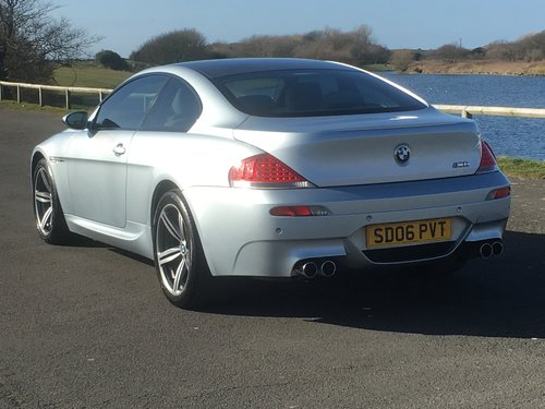 2006 BMW M6 5.0 V10 SMG COUPE For Sale (picture 3 of 6)