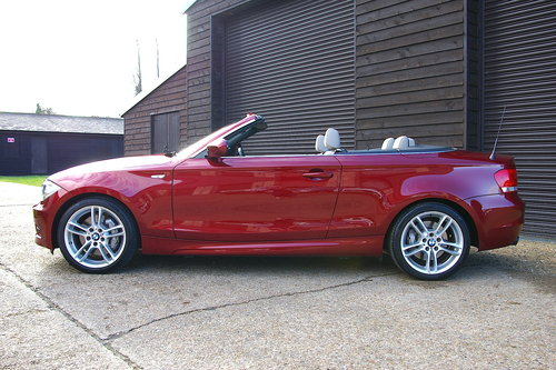 2012 BMW 135i M-Sport Convertible DCT Auto (15,123 miles) SOLD (picture 1 of 6)