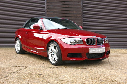 2012 BMW 135i M-Sport Convertible DCT Auto (15,123 miles) SOLD (picture 2 of 6)