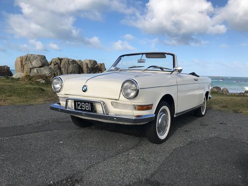 1962 BMW 700S scarce early Baur Cabriolet Sport For Sale (picture 2 of 6)