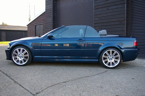 2003 BMW E46 M3 3.2 SMG Convertible Auto (27,152 miles) SOLD (picture 1 of 6)