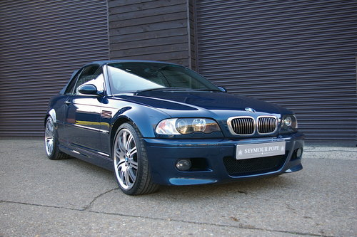 2003 BMW E46 M3 3.2 SMG Convertible Auto (27,152 miles) SOLD (picture 2 of 6)