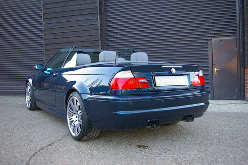 2003 BMW E46 M3 3.2 SMG Convertible Auto (27,152 miles) SOLD (picture 3 of 6)